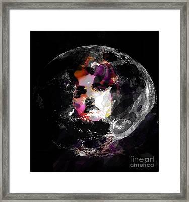 It's Only Love Framed Print by Rebecca Lemke