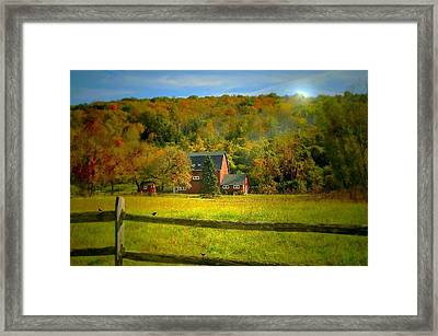 It's Over Now Framed Print by Diana Angstadt