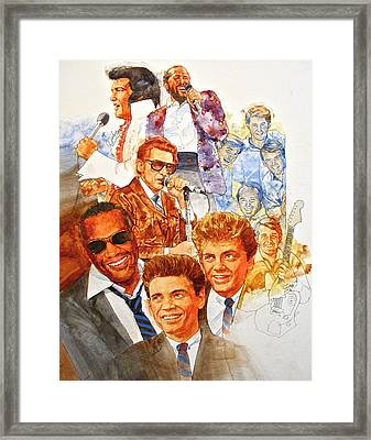 Its Rock And Roll 3 Framed Print