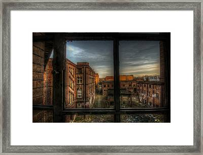 Its The End Framed Print by Nathan Wright