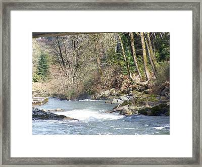 Its The Water And A Lot Lot More Framed Print by Laurie Kidd