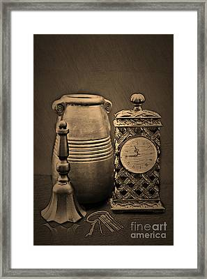 It's Time For... Framed Print by Sherry Hallemeier