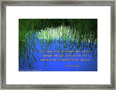 It's Time Now Framed Print