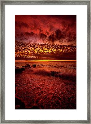 It's Time To Push On Framed Print