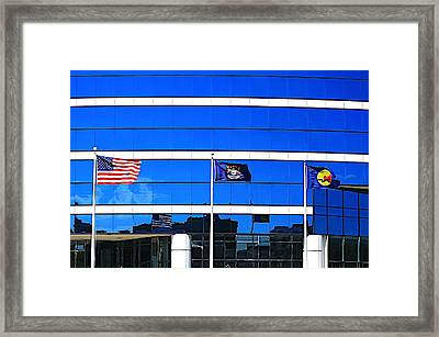 Its What I Believe In Framed Print by Robert Pearson