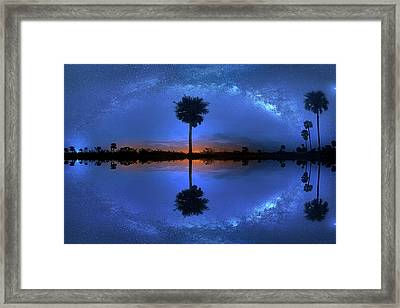 iUniverse Framed Print by Mark Andrew Thomas