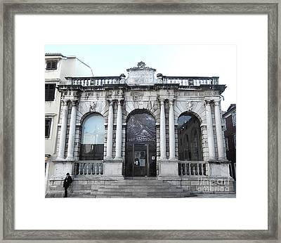 Ivan Mestrovic Framed Print by Ann Johndro-Collins