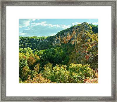 Ivanovo Rocks Framed Print