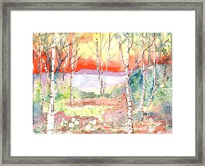 Framed Print featuring the painting Ivan's Eve by Renate Nadi Wesley