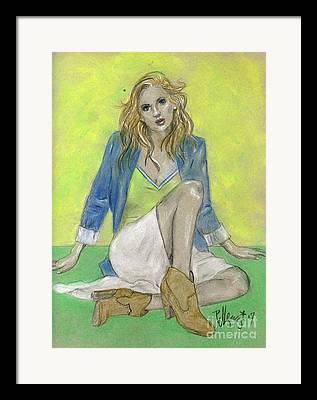 Clothed Figure Drawings Framed Prints