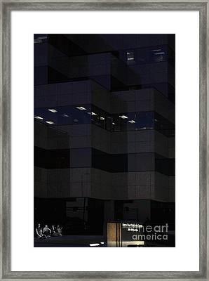 Framed Print featuring the photograph i've got Company by Viktor Savchenko