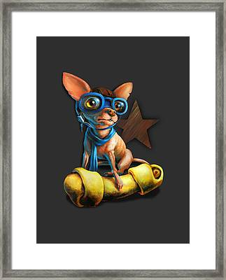 I've Got Mine For Dark Colors Framed Print by Vanessa Bates