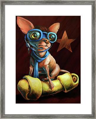 I've Got Mine Framed Print by Vanessa Bates