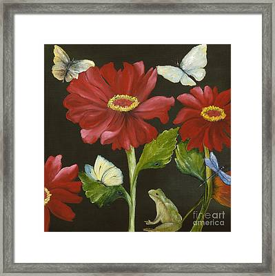 I've Got My Eye On You Framed Print by Carol Sweetwood