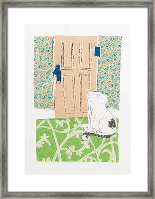 Ive Got Places To Go People To See Framed Print by Leela Payne
