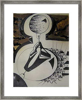 I've Got The Whole World In My Hands Framed Print by Jimmy King