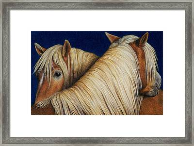 I've Got Your Back Framed Print by Pat Erickson
