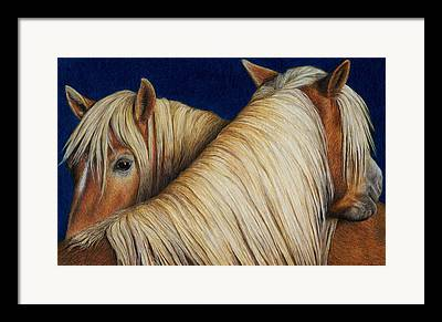 Colored Pencil Paintings Framed Prints