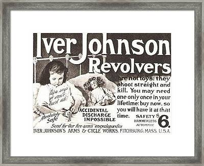 Iver Johnson Revolvers Framed Print