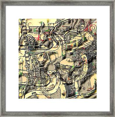 Ivory Framed Print by Dave Kwinter