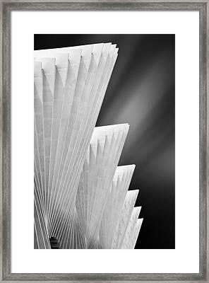 Ivory Gates Framed Print by Michiel Hageman