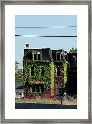 Ivy Consumes Framed Print by ShadowWalker RavenEyes Dibler