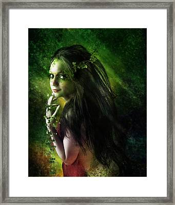 Ivy Framed Print by Mary Hood