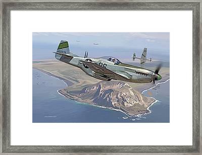 Iwo Jima, 1945 Framed Print