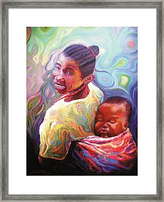 Iyaniwura  Framed Print