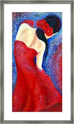 Iza Framed Print by Claudia Fuenzalida Johns