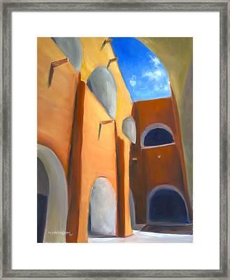 Izamal - Monastery San Antonio De Padua  Framed Print