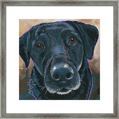 Izzie Framed Print by Nadi Spencer