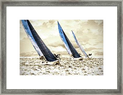 J Boats 2 Framed Print by Alan Hausenflock