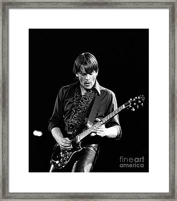 Framed Print featuring the photograph J Geils by Chris Walter