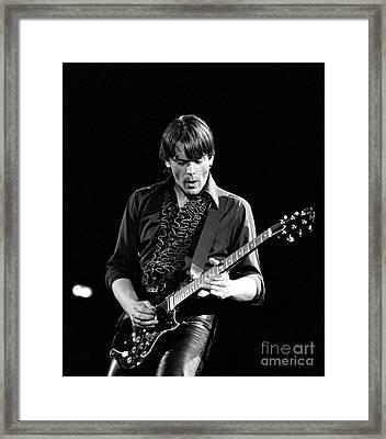 J Geils Framed Print