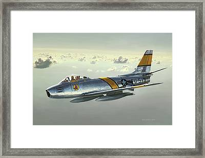 Jabby Jabara Framed Print