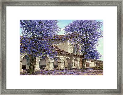 Jacaranda Framed Print by Doug Kreuger