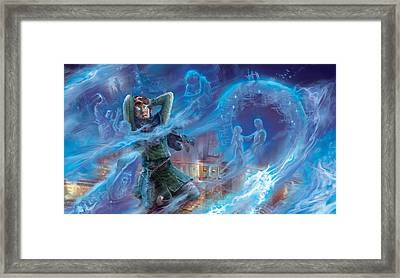 Jace's Origin Framed Print by Ryan Barger