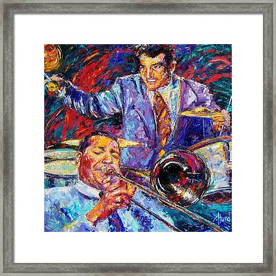Jack And Gene Framed Print by Debra Hurd