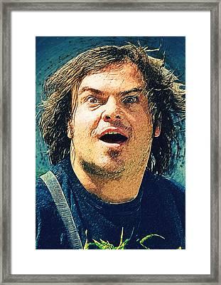Jack Black - Tenacious D Framed Print