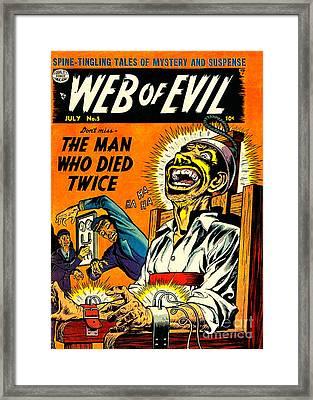 Jack Cole Web Of Evil 5 Framed Print