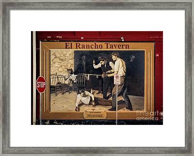 Jack Dempsey In Durango Colorado Framed Print