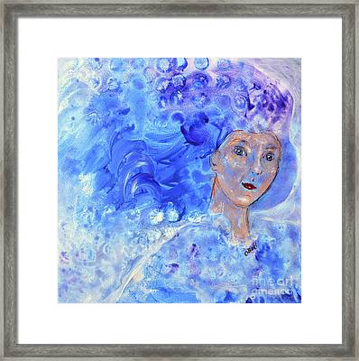 Jack Frost's Girl Framed Print by Claire Bull