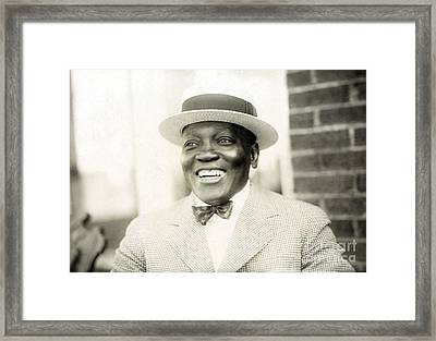 Jack Johnson, American Boxer Framed Print by Science Source