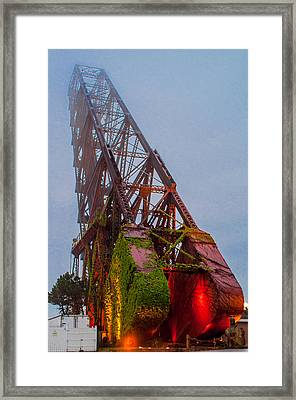 Jack Knife Bridge Framed Print
