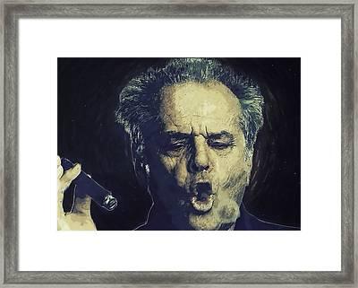 Jack Nicholson 2 Framed Print