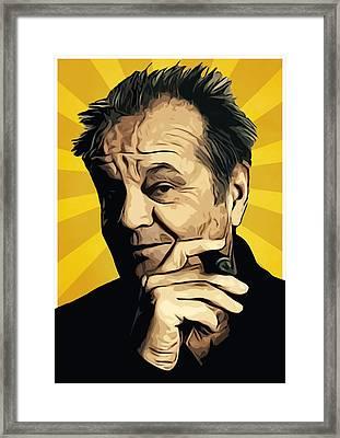 Jack Nicholson 3 Framed Print