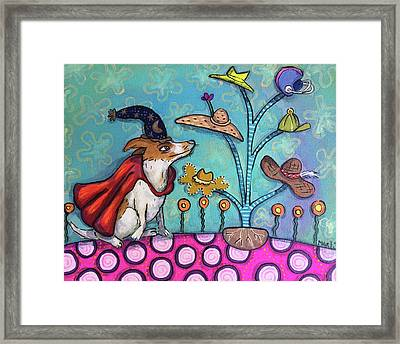 Framed Print featuring the painting Jack Of All Trades by Marti McGinnis