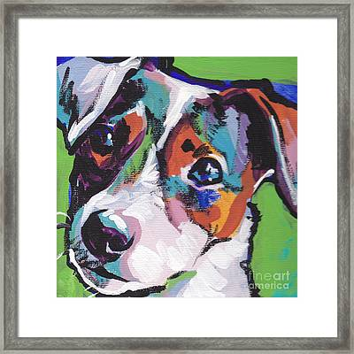 Jack Out Of The Box Framed Print