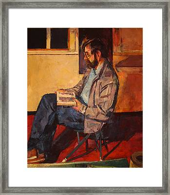 Framed Print featuring the painting Jack Rogers by Tim  Heimdal
